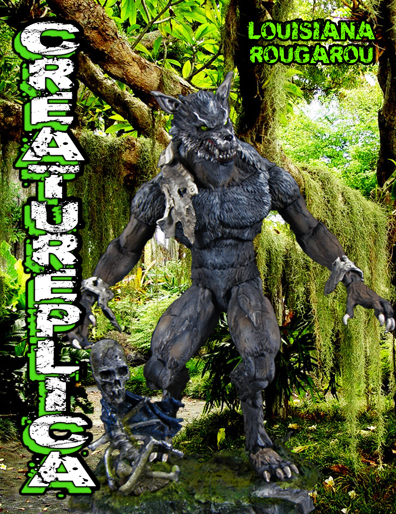 the rougarou Information and legends about the native american mythological figure rugaru (rougarou), shapeshifting werewolf of the metis people.